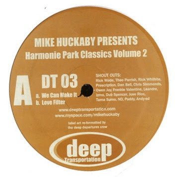 Mike Huckaby - Harmonie Park Classics Vol. 2 - Unearthed Sounds