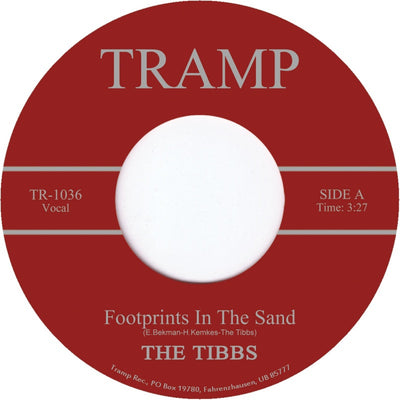 The Tibbs - Footprints In The Sand - Unearthed Sounds, Vinyl, Record Store, Vinyl Records