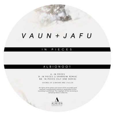 Vaun & Jafu - In Pieces (Incl J. Sparrow & Sly One Remix) - Unearthed Sounds
