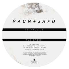 Vaun & Jafu - In Pieces (Incl J. Sparrow & Sly One Remix) , Vinyl - Albion Collective, Unearthed Sounds - 1