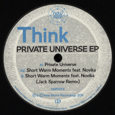 Think ‎'Private Universe EP' - Unearthed Sounds