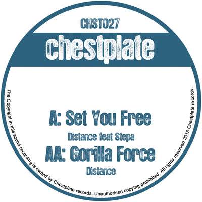 Distance - Set You Free / Gorilla Force - Unearthed Sounds