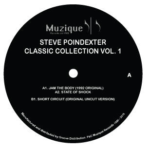 Steve Poindexter - Classic Collections Vol. 1 - Unearthed Sounds