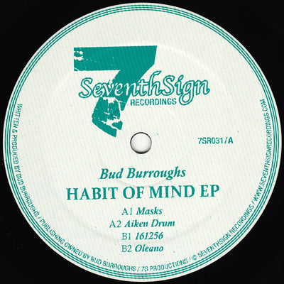 Bud Burroughs - Habit of Mind EP
