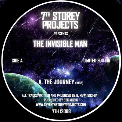 The Invisible Man - The Journey EP [Repress] - Unearthed Sounds