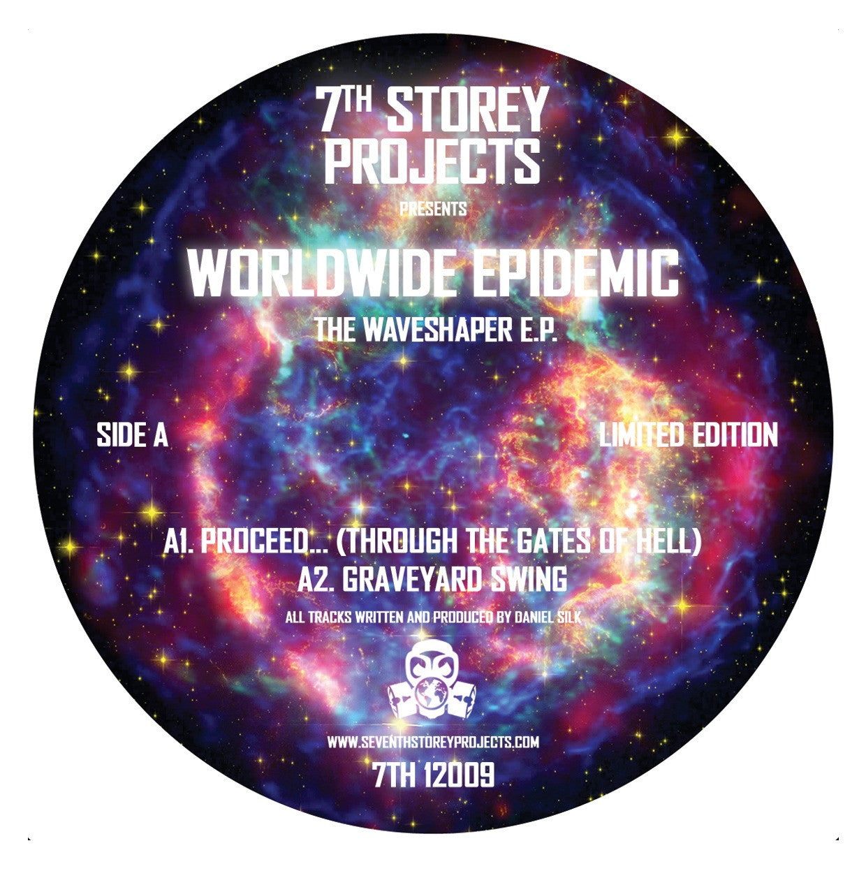 Worldwide Epidemic - The Waveshaper EP , Vinyl - 7th Storey Projects, Unearthed Sounds