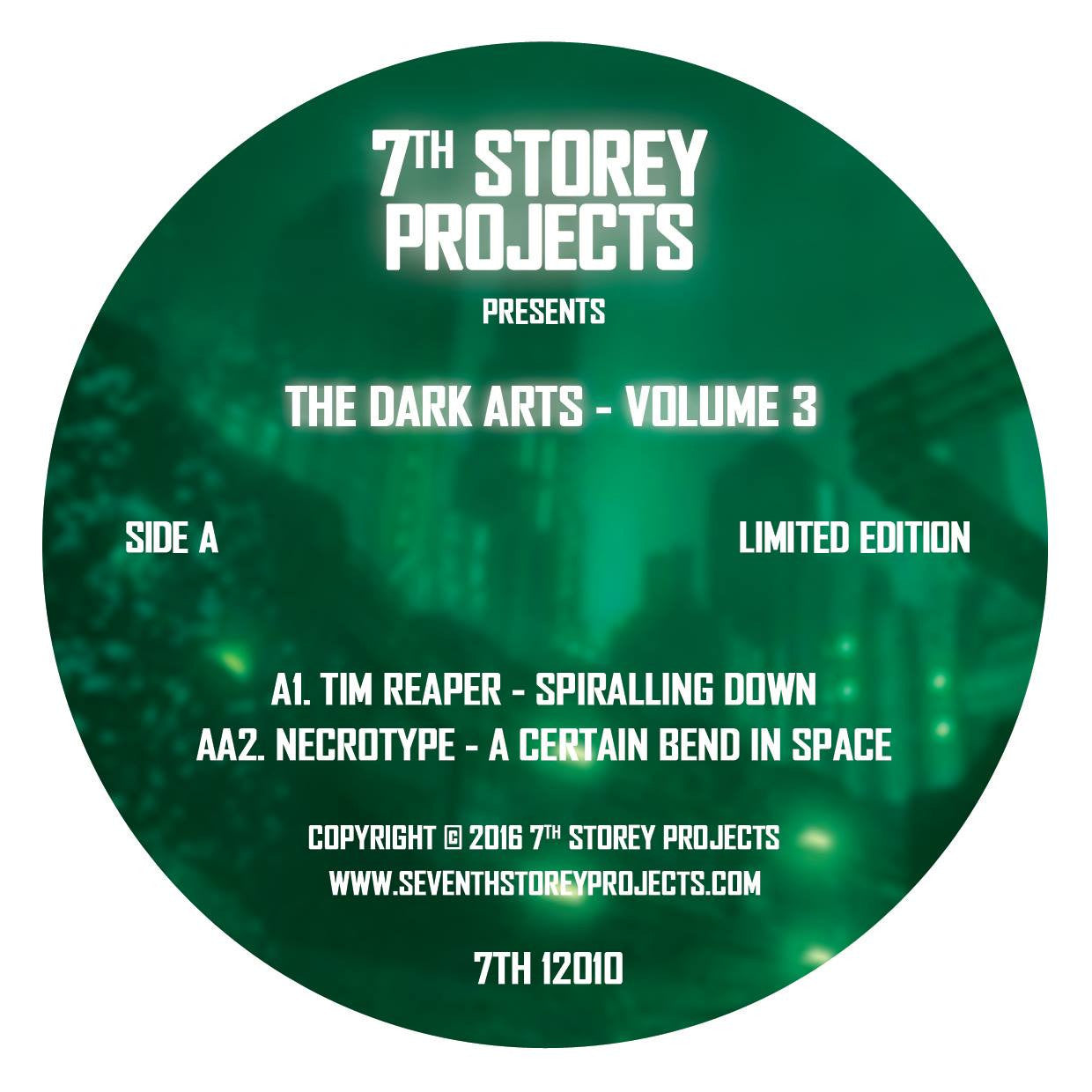 7th Storey Projects Presents - The Dark Arts Volume 3 [Green Vinyl] , Vinyl - 7th Storey Projects, Unearthed Sounds