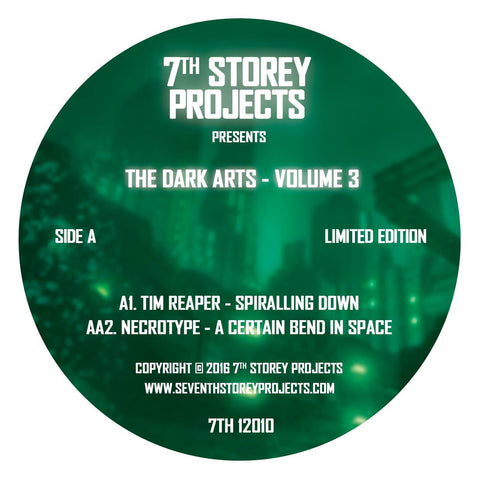 7th Storey Projects Presents - The Dark Arts Volume 3 [Green Vinyl]