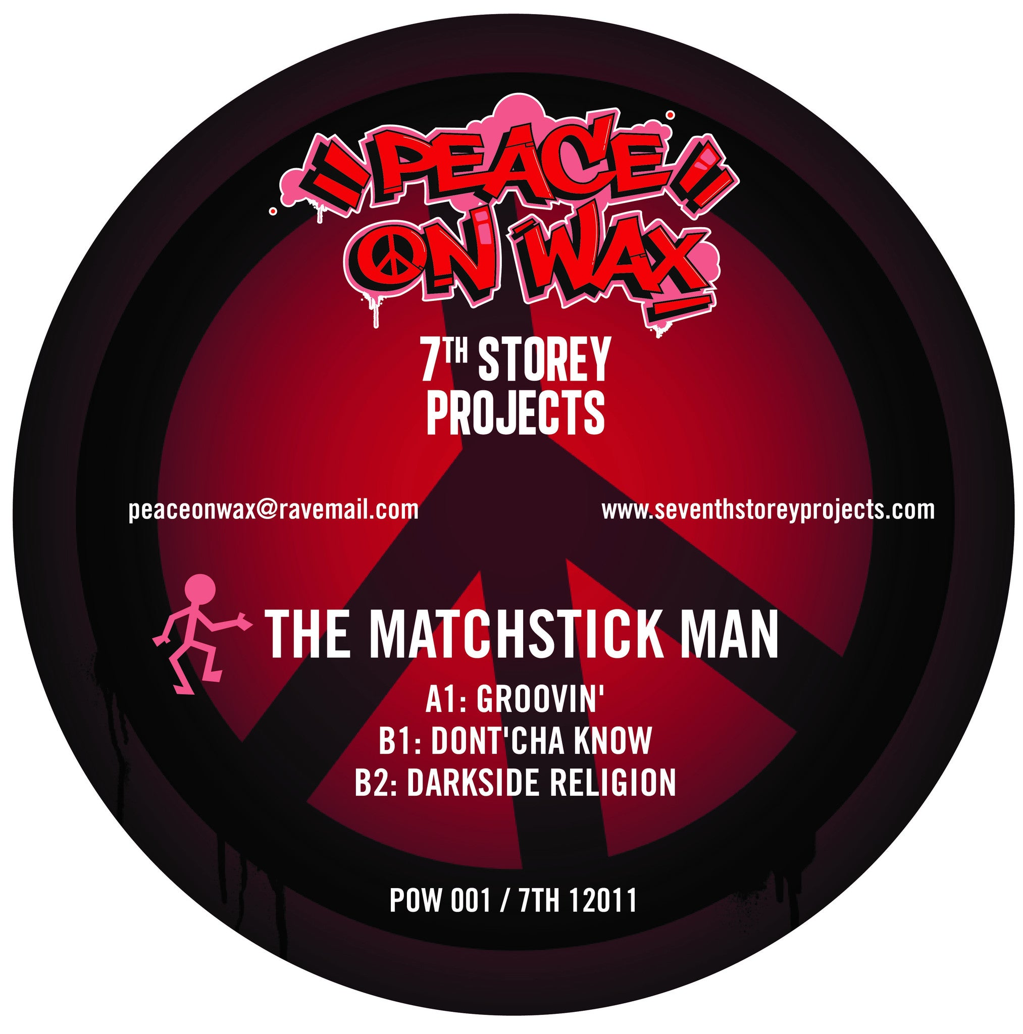 "Fozbee & Cooz / The Matchstick Man - 7 Track EP (2x12"" Vinyl) , Vinyl - 7th Story Projects / Peace On Wax, Unearthed Sounds"