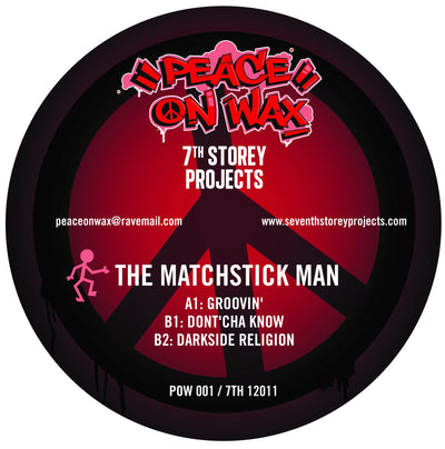 "Fozbee & Cooz / The Matchstick Man - 7 Track EP (2x12"" Vinyl) - Unearthed Sounds"