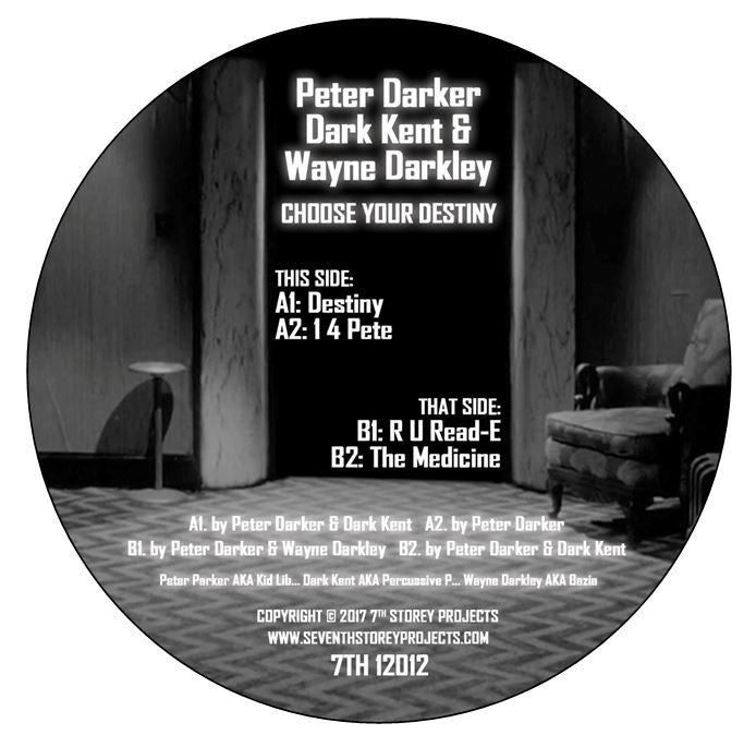 Peter Darker (Kid Lib) - Choose Your Destiny , Vinyl - 7th Storey Projects, Unearthed Sounds