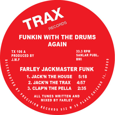 Farley 'Jackmaster' Funk - Funkin' With the Drums Again - Unearthed Sounds, Vinyl, Record Store, Vinyl Records