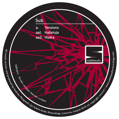Sub - Tensions - Unearthed Sounds, Vinyl, Record Store, Vinyl Records