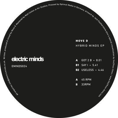 Move D ‎- Hybrid Minds EP - Unearthed Sounds