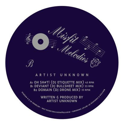 Artist Unknown - Misfit Melodies 02 - Unearthed Sounds