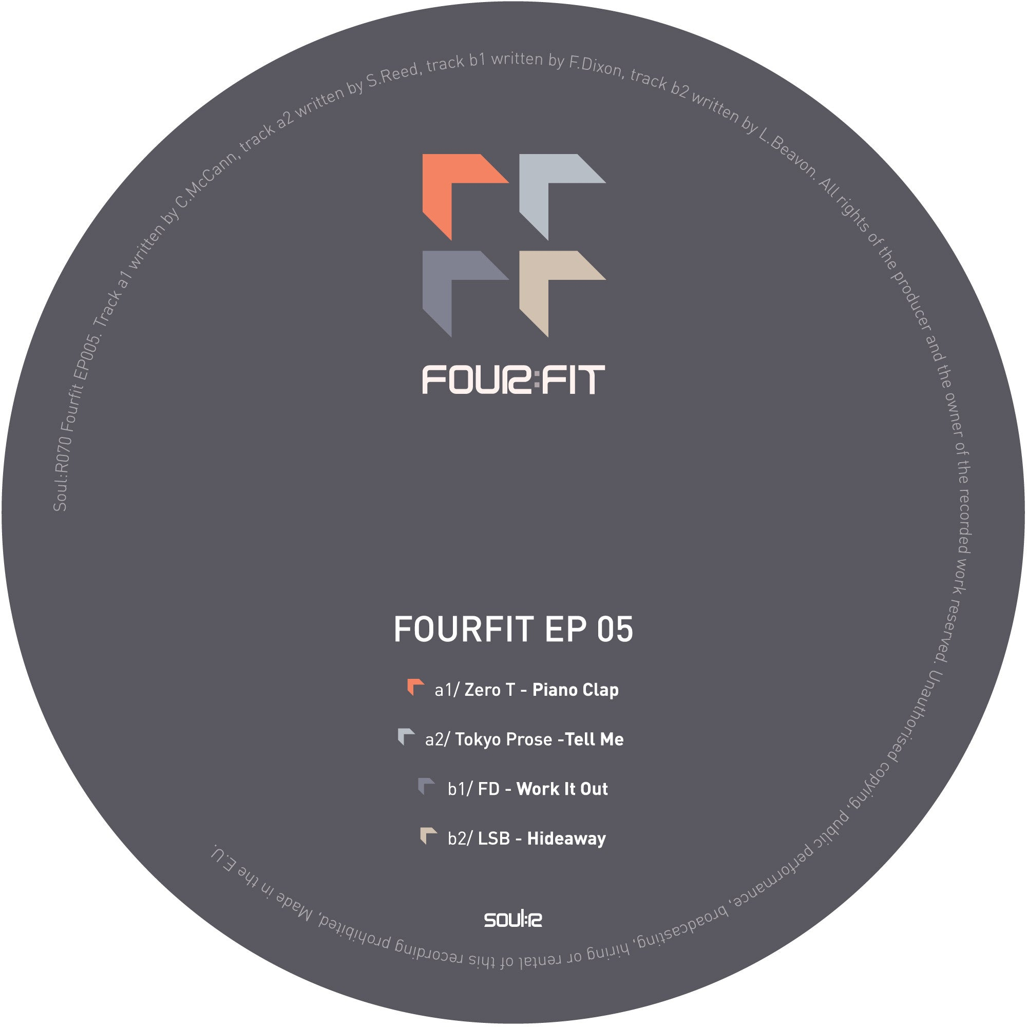 Various Artists - Fourfit EP 5 - Unearthed Sounds
