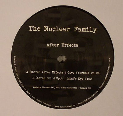 The Nuclear Family - After Effects - Unearthed Sounds, Vinyl, Record Store, Vinyl Records