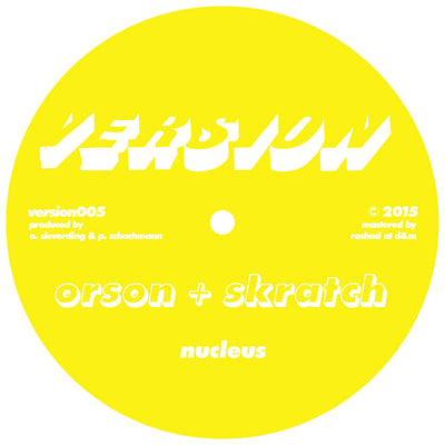 Orson & Skratch - Nucleus / Lights Off - Unearthed Sounds, Vinyl, Record Store, Vinyl Records
