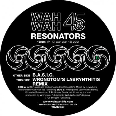 Resonators - B.A.S.I.C. - Unearthed Sounds