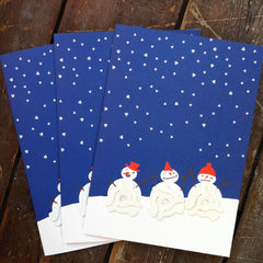 Dink Christmas Card (Snowman) - Unearthed Sounds