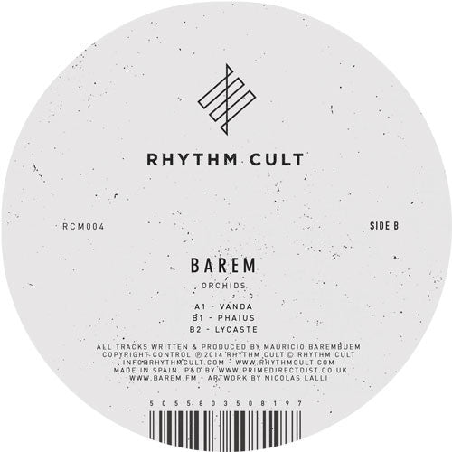 Barem - Orchids - Unearthed Sounds