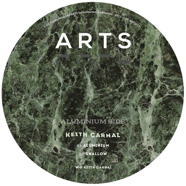 Keith Carnal - Aluminium - Unearthed Sounds