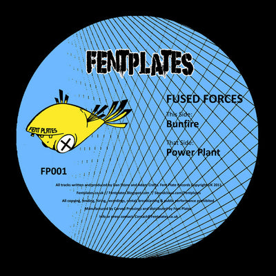 Fused Forces - Bunfire / Power Plant - Unearthed Sounds, Vinyl, Record Store, Vinyl Records