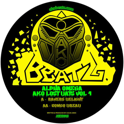 Alpha Omega - AKO Lost Dats Vol.1 - Unearthed Sounds