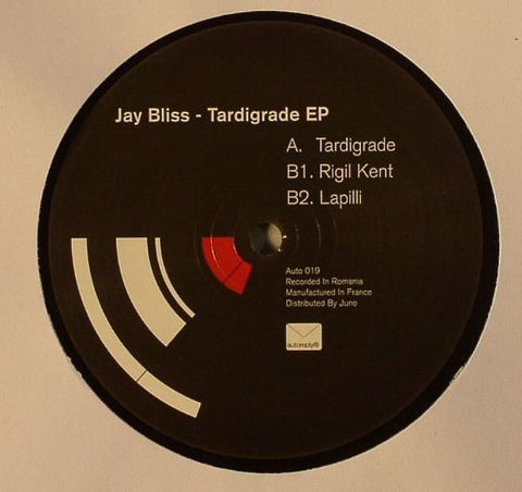 Jay Bliss - Tardigrade EP