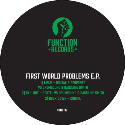 Digital Vs Drumsound & Bassline Smith -  First World Problems EP - Unearthed Sounds