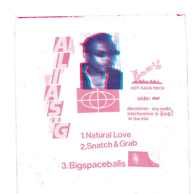 Alias G - Natural Love EP - Unearthed Sounds