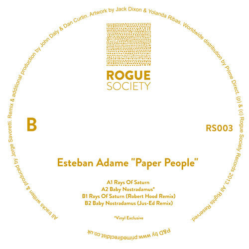 Esteban Adame - Paper People - Unearthed Sounds