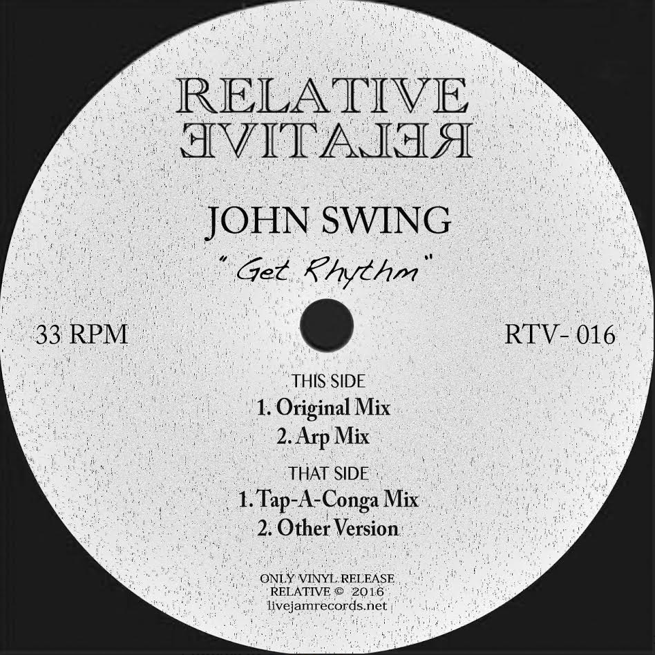 John Swing - Get Rhythm - Unearthed Sounds
