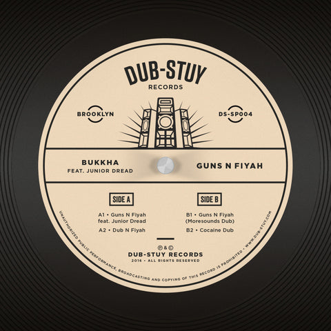 Bukkha ft. Junior Dread - Guns N Fiyah EP