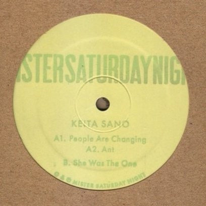 Keita Sano - People Are Changing - Unearthed Sounds
