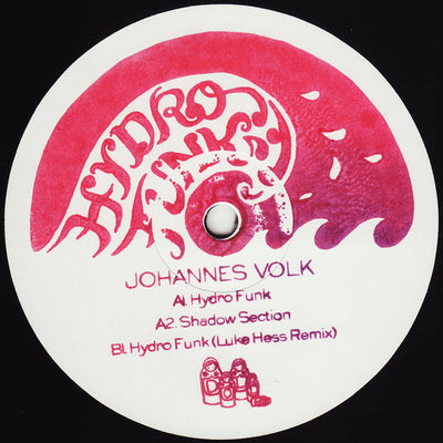 Johannes Volk - Hydrofunk EP - Unearthed Sounds