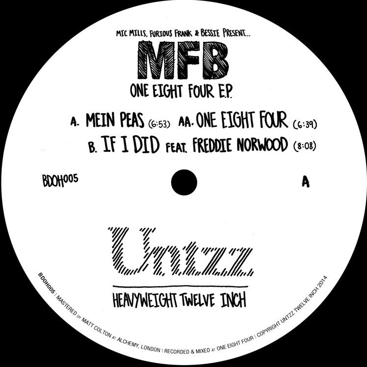 MFB - One Eight Four EP - Unearthed Sounds