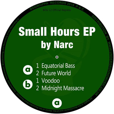 Narc - Small Hours EP [Vinyl Only]