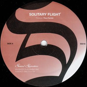 Theo Parrish - Solitary Flight / Dellwood - Unearthed Sounds