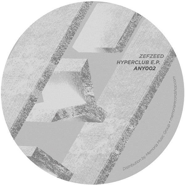 "ZefZeed - Hyperclub EP [180g 12"" Vinyl] - Unearthed Sounds"