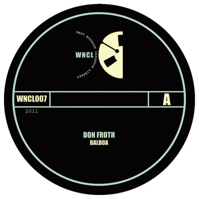 Don Froth ‎– Balboa / Von - Unearthed Sounds