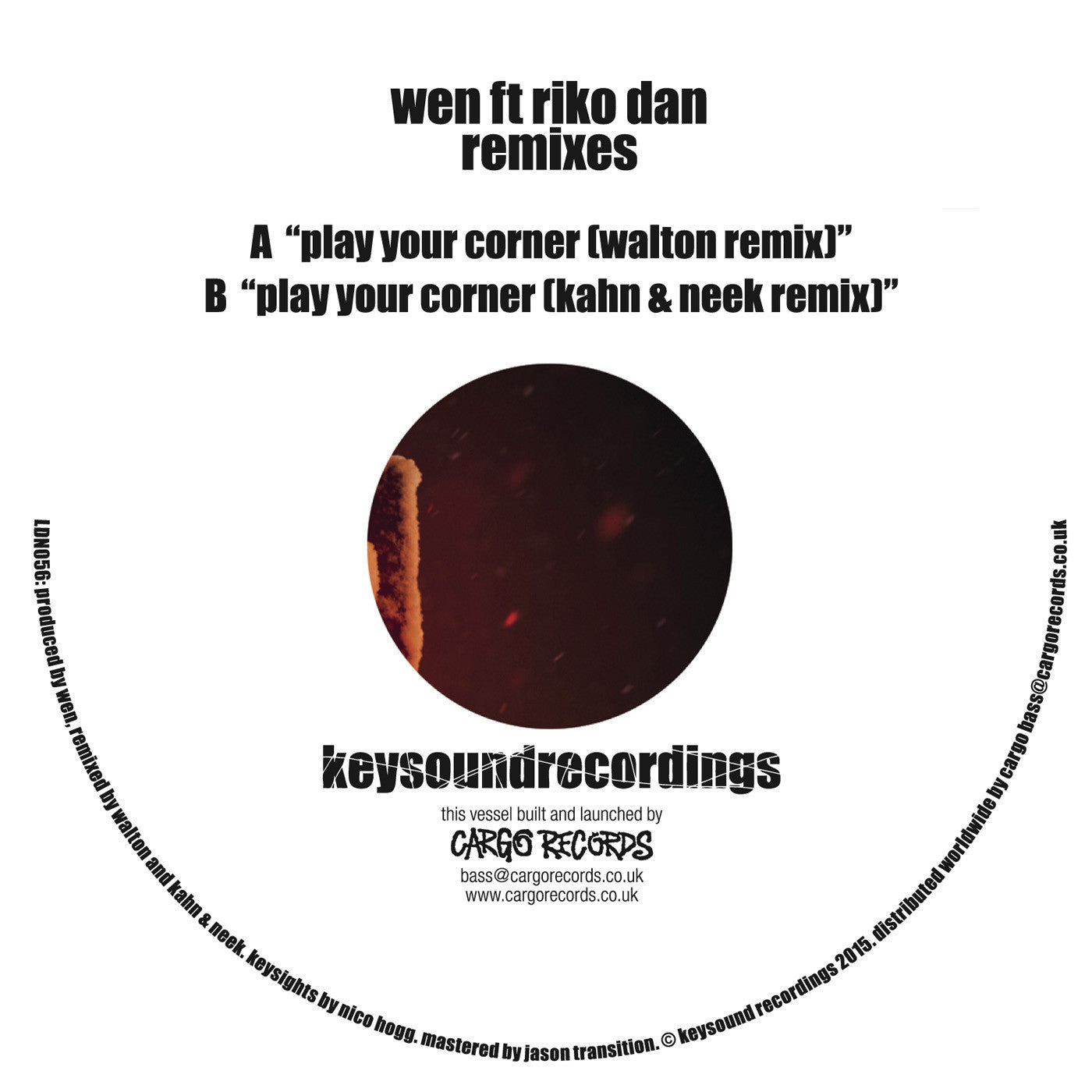 Wen ft. Riko Dan - Play Your Corner (Walton / Kahn & Neek Remix) - Unearthed Sounds