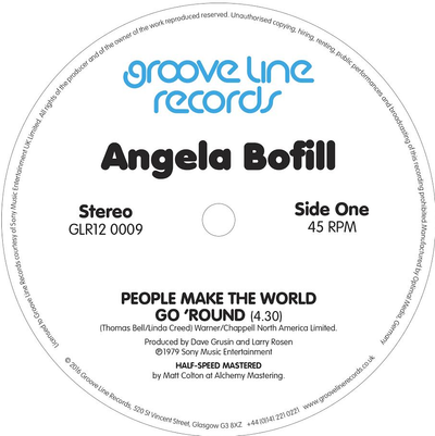 Angela Bofill - People Make The World Go 'Round / Under The Moon And Over The Sky - Unearthed Sounds