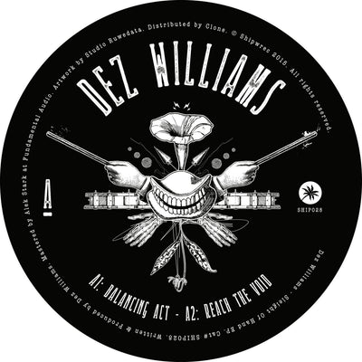 Dez Williams - Sleight of Hand EP - Unearthed Sounds