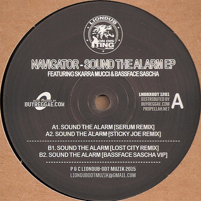 Navigator, Skarra Mucci - Sound The Alarm: Serum Remix / Sticky Joe Remix - Unearthed Sounds