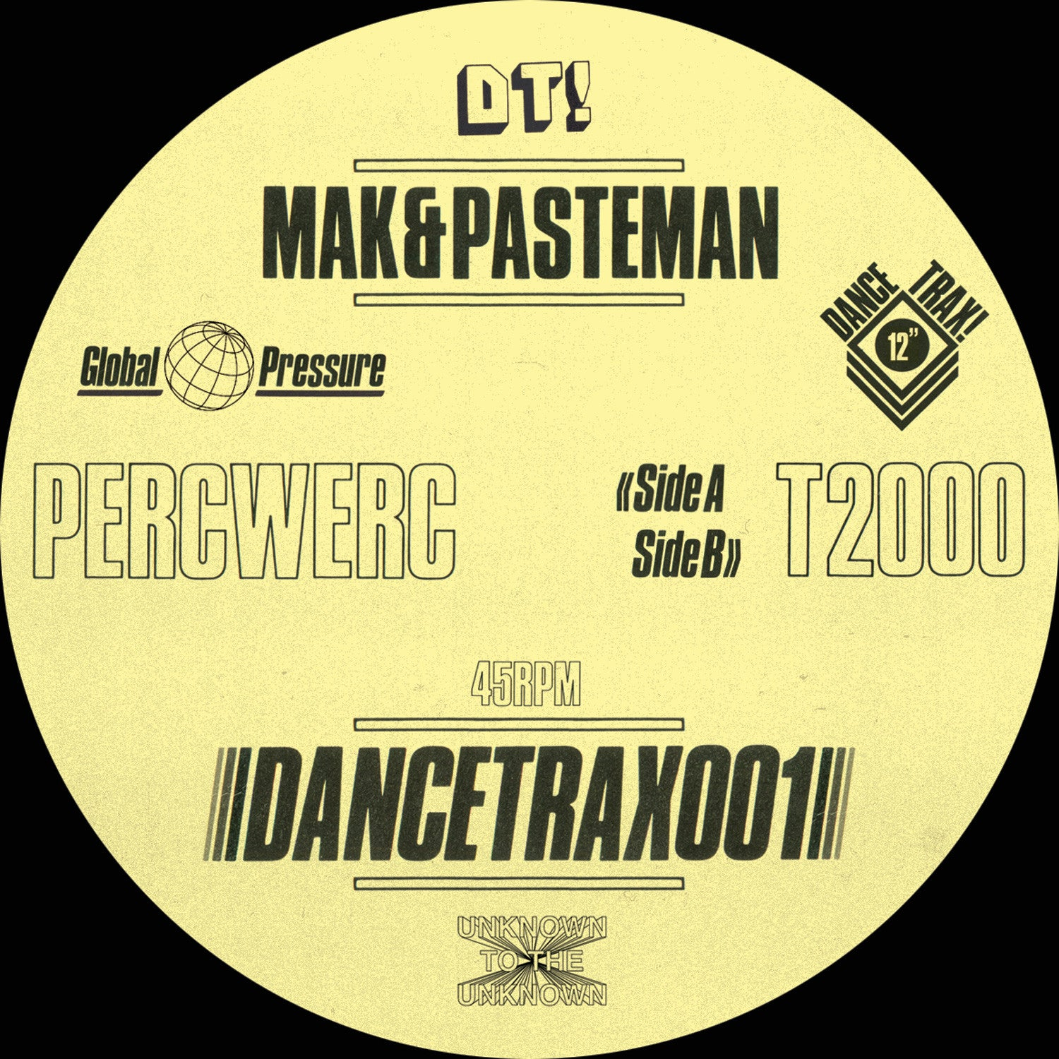 Mak & Pasteman - Dance Trax, Vol. 1 - Unearthed Sounds