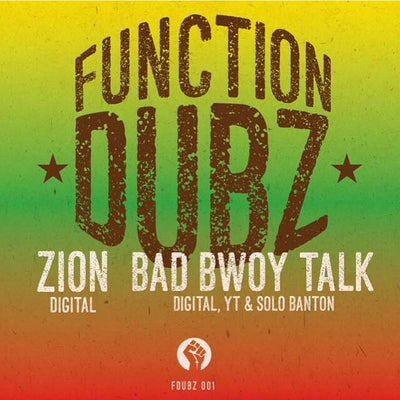 "Function Dubz Limited 10"" Vinyl - Digital, Y.T. & Solo Banton - Unearthed Sounds"