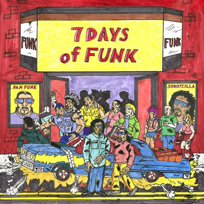 Dam-Funk & Snoopzilla - 7 Days of Funk - Unearthed Sounds