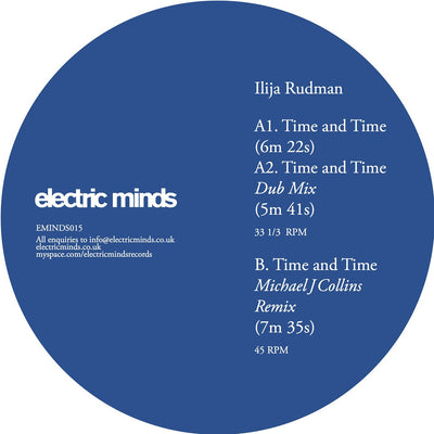 Ilija Rudman ‎– Time and Time - Unearthed Sounds