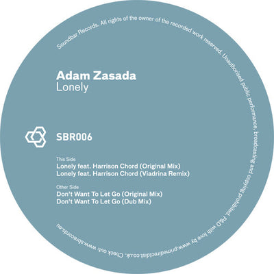 Adam Zasada - Lonely - Unearthed Sounds